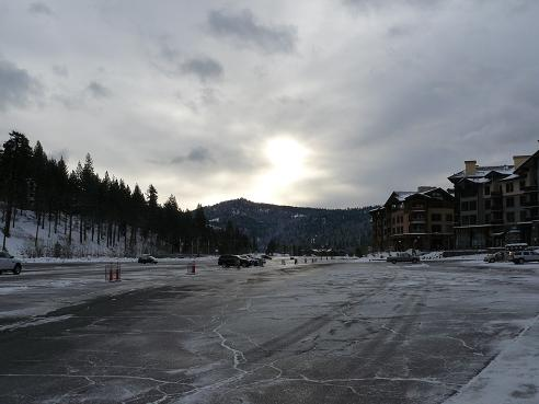 Squaw Valley Parking lot on 05-16-11