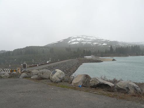Boca Dam in April 2011