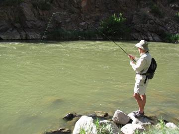 Adam Omernick of NoCoFlyFishing.com
