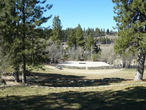 Truckee River Regional Park Amphitheater in Truckee, CA