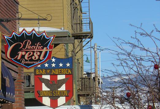 Truckee Bar of America and Pacific Crest Restaurant