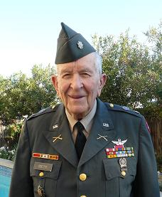 Retired Lt. Col. Herbert M. Smith, Jr. pictured on Nov. 7, 2012 wearing his Army uniform for a Veterans Day event at his church.