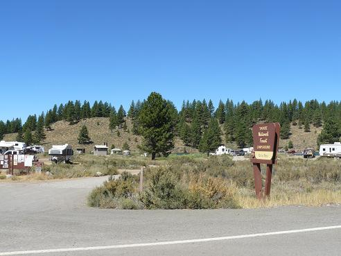 Camping at Boca Reservoir in Truckee, California