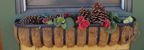Christmas Window Boxes in Truckee California - 2011