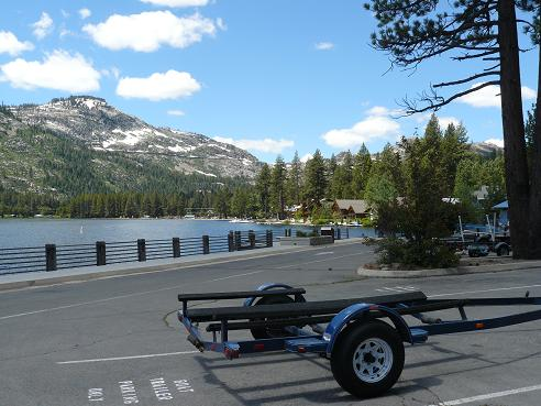 Donner Lake Boat Ramp Parking Lot - Truckee, California