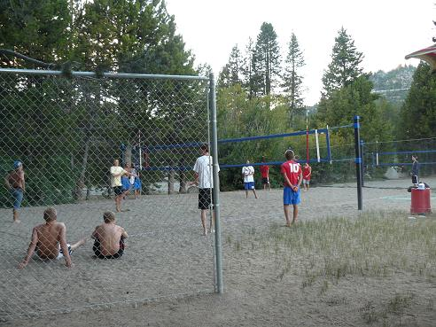 Donner Lake Property Owners Beach - Volleyball Courts in Truckee, California