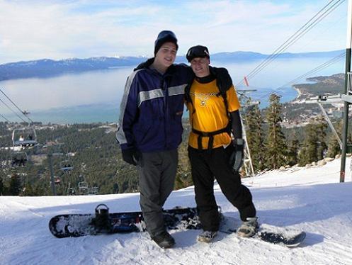 Dan McCready Snowboarding at Heavenly Valley in 2006/07
