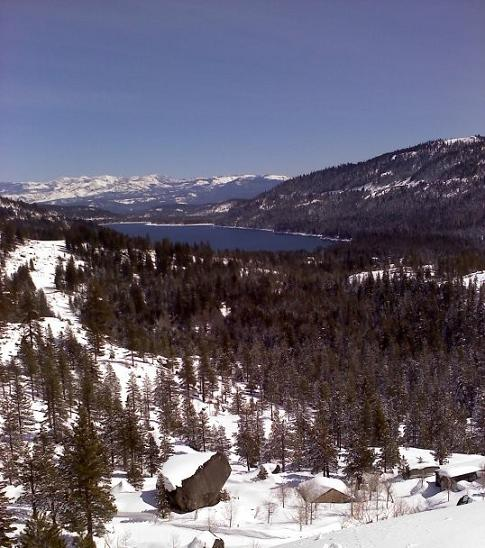 Donner Lake in Truckee, California