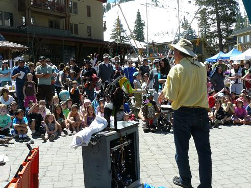 North Tahoe Truckee Earth Day at Squaw Valley
