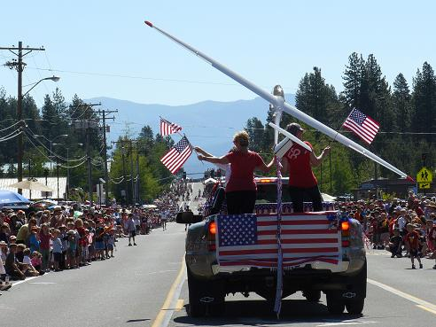 Fourth of July in Truckee, California