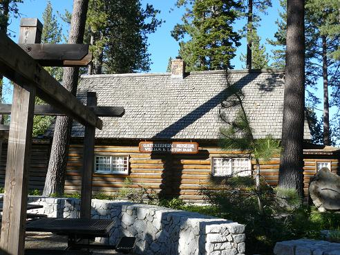 Gatekeeper's Museum in William B. Layton Park in Tahoe City, CA at Lake Tahoe