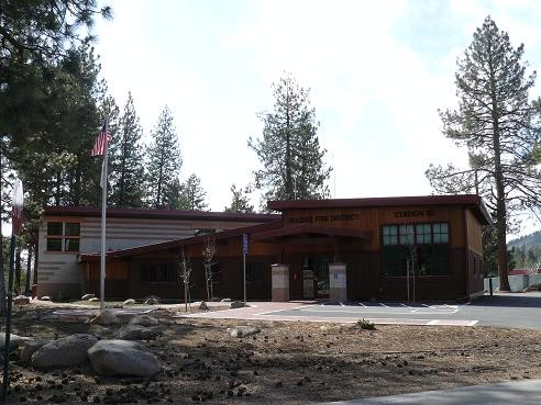 Truckee Fire District - Station 95 in Glenshire - Truckee, California