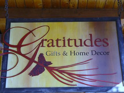 Gratitudes Gifts and Home Decor