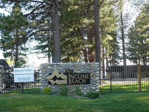 Incline Beach in Incline Village, Nevada