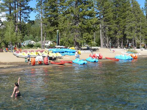 Kings Beach At Lake Tahoe Info By Truckee Travel Guide