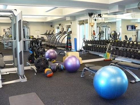 Fitness Center at Martis Camp, in Truckee, California