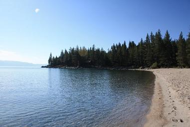 Meeks Bay at Lake Tahoe