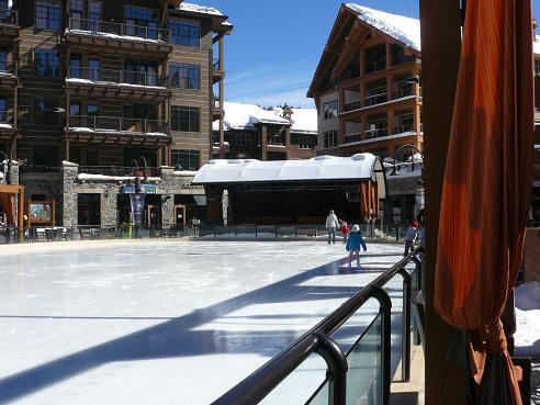 Northstar Village Ice Skating Rink