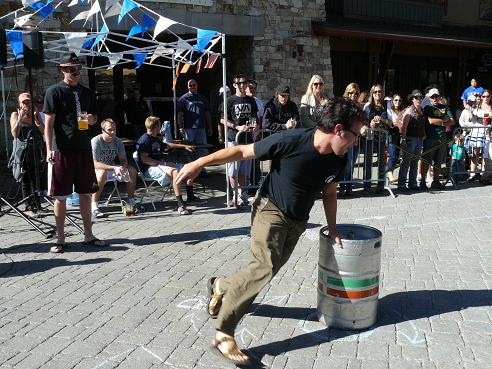 Keg Racing at the 2011 Squaw Valley Oktoberfest Event