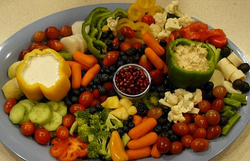 Fruit and Vegetable Tray by Leigh Storz