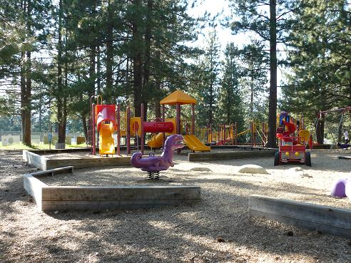 Truckee River Regional Park Playground area