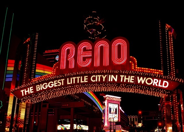 Reno, Nevada - Info. from Truckee Travel Guide