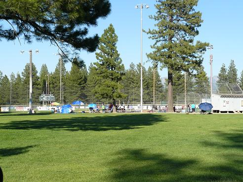 Truckee River Regional Park Ball Fields in Truckee, CA