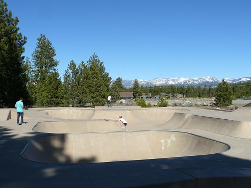 Truckee River Regional Park Skate Park in Truckee, CA