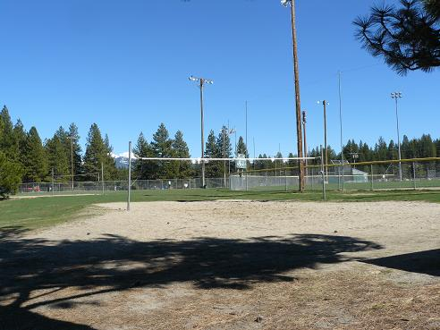 Truckee River Regional Park Volleyball Courts in Truckee, CA