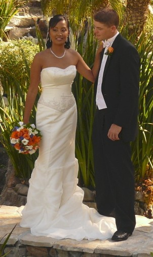Ryan and Marlene Storz on their Wedding Day