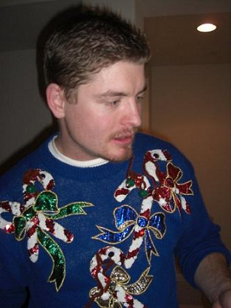 Ryan Storz - Christmas Ugly Sweater Contest