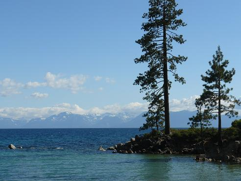 Sand Harbor State Park at Lake Tahoe, Nevada