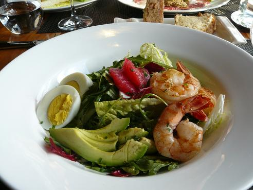 Shrimp Salad from the Manzanita Restraunt at the Ritz Carlton, Lake Tahoe at Northstar