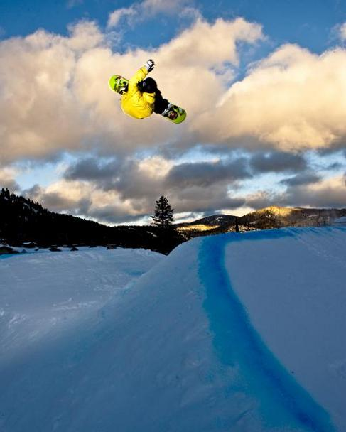 Squaw Valley Terrain Park in Olympic Valley, California