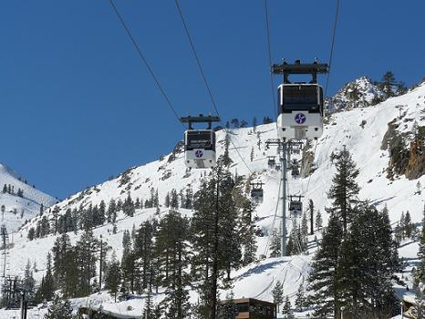 Funitel at Squaw Valley, USA