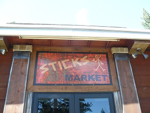 Sticks Market at Donner Lake in Truckee, CA