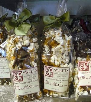 Marble Corn from Sweets Handmade Candies in Truckee, Calfornia