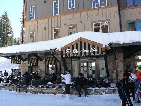 The Chocolate Bar in the Village at Northstar in Truckee, California