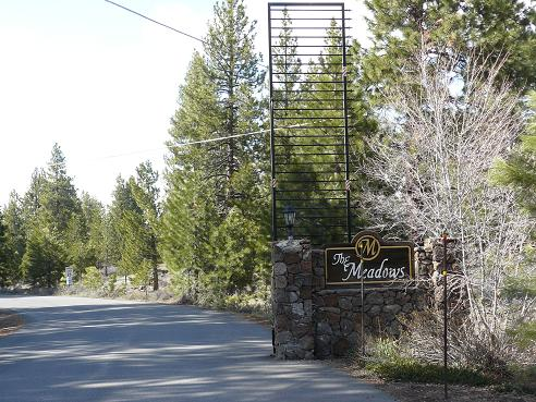The Meadows Gated Subdivision of Glenshire in Truckee, CA
