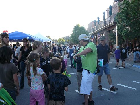 Truckee Thursdays - a summer event every Thursday evening in Truckee, CA