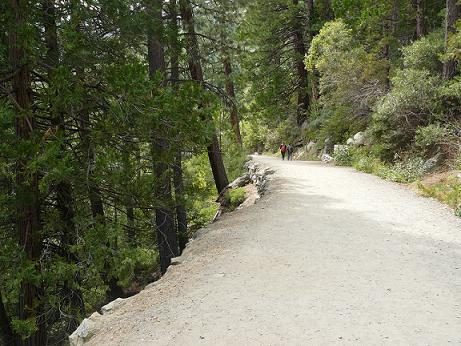 Vikingsholm Trail at Emerald Bay, Lake Tahoe, CA