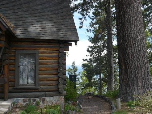Watson Cabin Museum in Tahoe City, CA at Lake Tahoe
