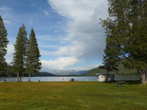 Donner Lake from West End Beach