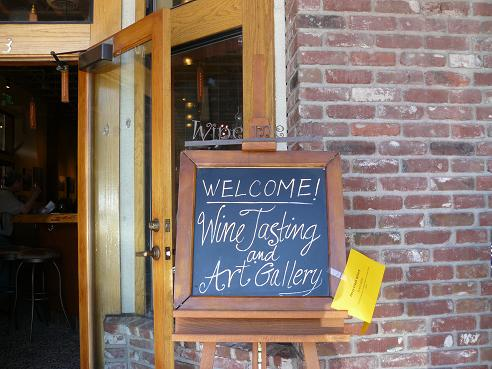 Spring in Truckee California - Wine Tasting