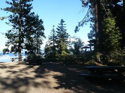 William Kent Beach at Lake Tahoe, California