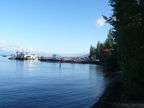 Sunnyside Restaurant & Lodge Deck and Marina
