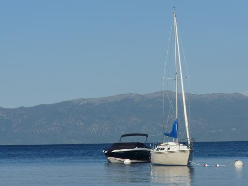 View of Lake Tahoe from William Kent Beach