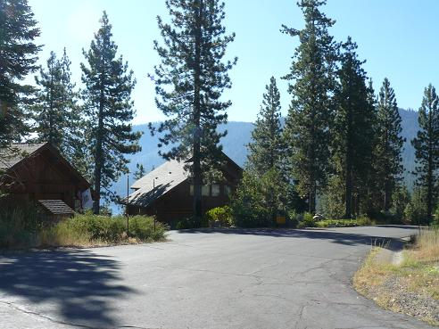 Homes in Wolfe Estates at Donner Lake in Truckee, California