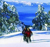 Snowshoeing at Lake Tahoe