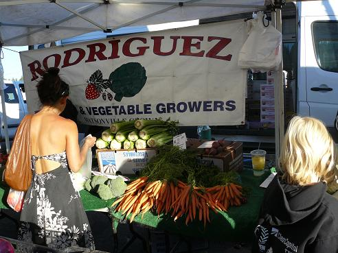Foothill Farmers Market during Truckee Thursdays